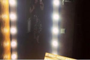 Фото отзыва на зеркало из массива дерева