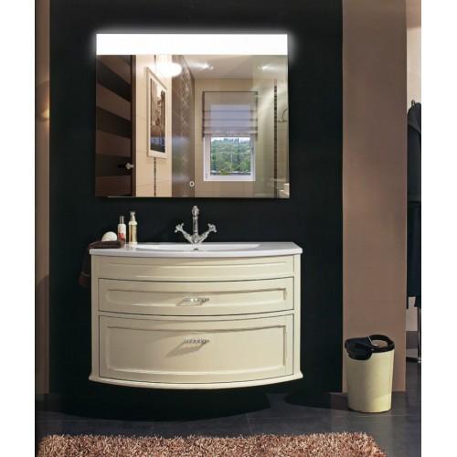 Зеркало в ванную комнату с подсветкой Аврора